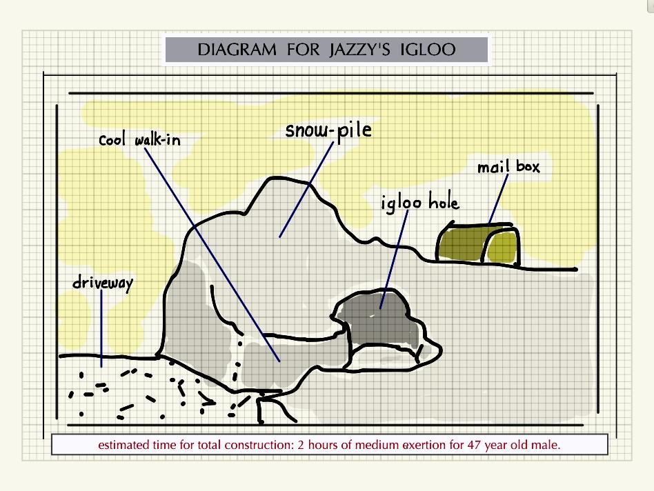 Jazzys Igloo Shapka Coffee